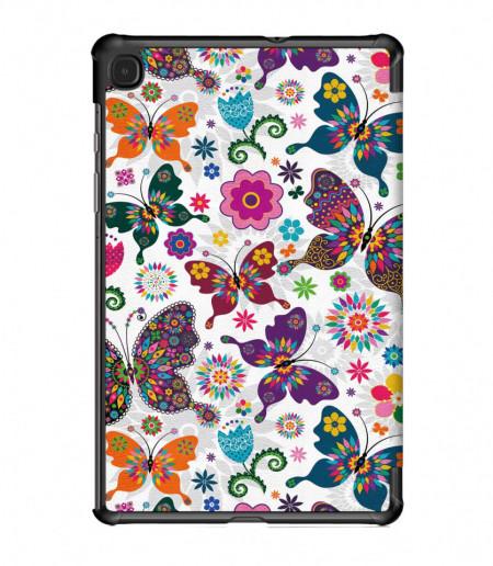 Husa cu fluturi pentru tableta Samsung Galaxy Tab S6 Lite 10.4 inch -