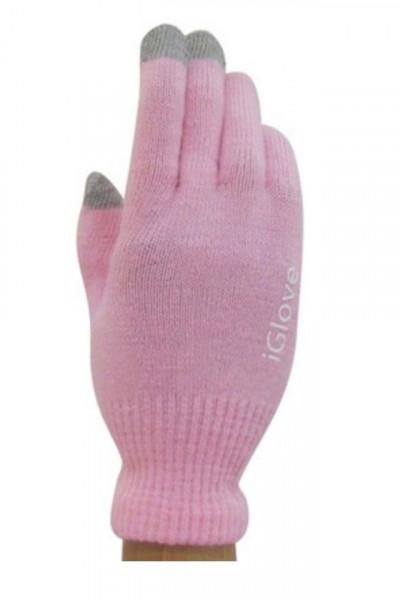 Manusi de iarna pentru touch screen, iGlove, Roz