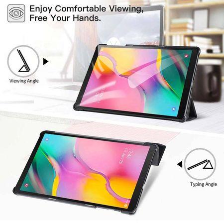 Smart Cover Samsung Galaxy Tab A T510 T515 - 10.1 inch - Neagra