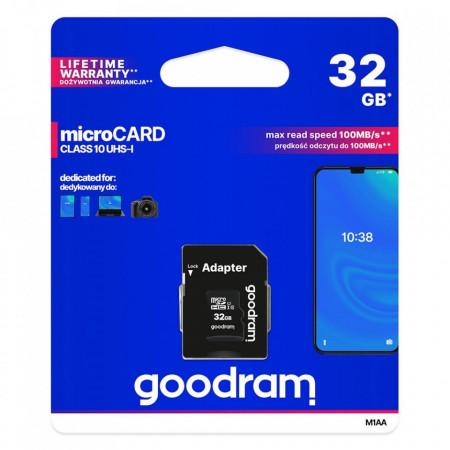 Card  32GB, Clasa 10, Micro SD