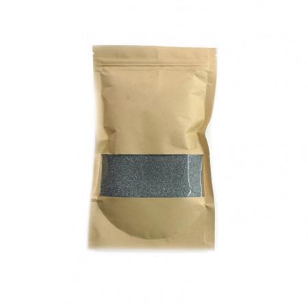 Set 100 grame Granule de ceara si doua fitile, pentru lumanari, gri
