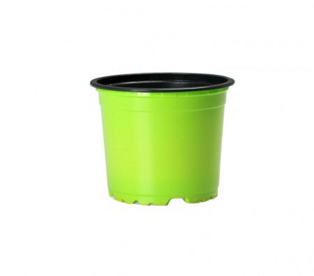 Set 25 bucati, ghivece pentru rasaduri, rotunde, diametru 9 cm, Verde