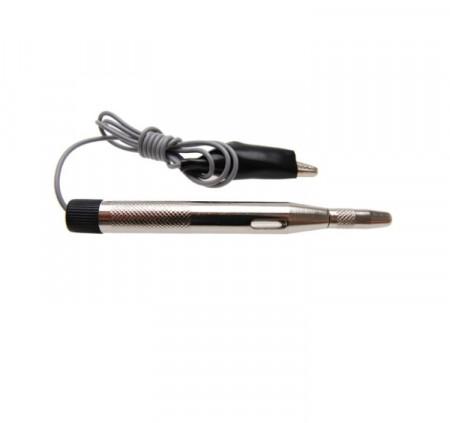 Creion Tester Filmer, sigurante si circuite electrice, Auto-Moto,  6-24V, argintiu