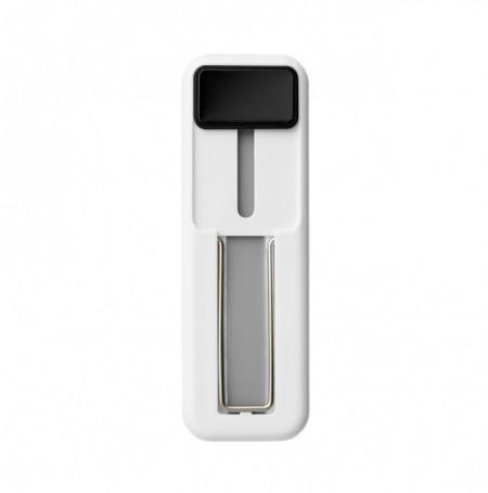 Suport tip Hand Strap pentru telefon, autoadeziv, cu buton Negru