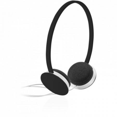 Casti audio stereo pentru copii, volum scazut, confortabile, negre