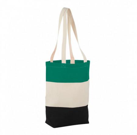 Plasa de cumparaturi pentru femei, design modern, manere lungi, multicolor