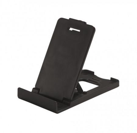 Set 2 bucati, suport compact pentru telefoane mobile, Poket, pliabil, negru
