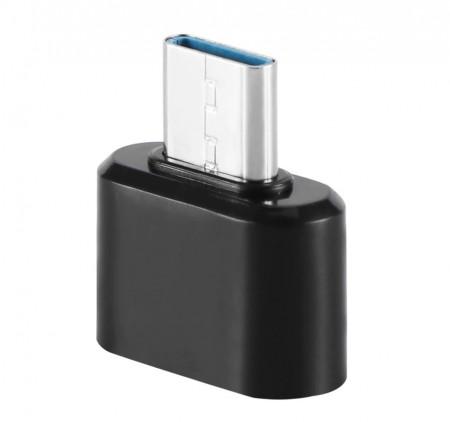 Adaptor OTG, USB tip C to USB 3.0, (Type C to USB), Negru