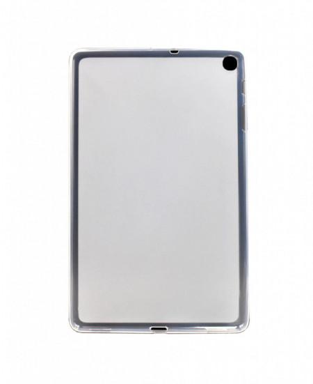 Husa pentru Samsung Galaxy Tab A 10.1 inch  Frosted TPU, subtire, Transparenta