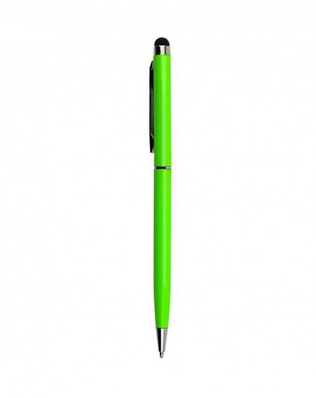Stylus de precizie cu Pix incorporat, Verde