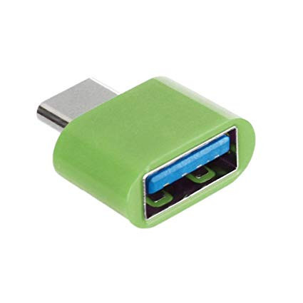 Adaptor OTG, USB tip C to USB 3.0, (Type C to USB), Verde