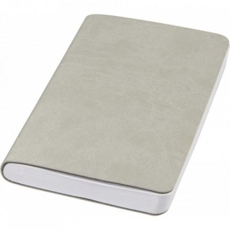 Agenda Rollable liniata dictando, A5, 120 file, coperti piele Ecologica, Gri