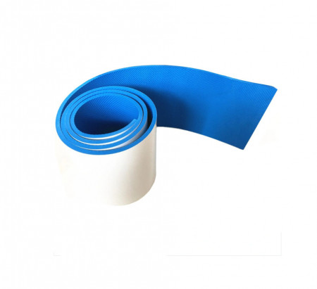Bara de protectie pentru garaj, protectie la deschiderea portierei, 20x200 cm, Albastra