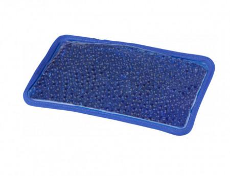Compresa termica cu silicon si captuseala de plus , fixare cu elastic, albastra