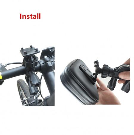 """Suport de telefon pentru Bicicleta, protectie la intemperii si praf, maxim 5.5"""""""