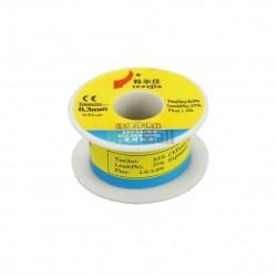Aliaj de lipit - Fludor 0.6 mm, 63%Sn, 37%Pb, 1.2% Flux - 30 gr