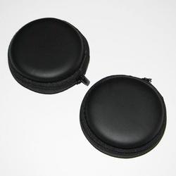 Casti Audio cu Jack 3.5 mm si Dopuri din silicon. Culoare Rosie