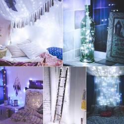 Ghirlanda lumini micro fairy cold white