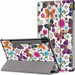Husa Smart Cover pentru Tableta Samsung Galaxy Tab S7 11 T870 T875 model fluture