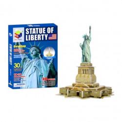 Puzzle 3D, Magic Puzzle, Statuia Libertatii, 30 Piese