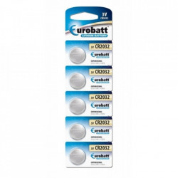 Set 5 buc, Baterii lithium 3v CR2032, Eurobatt, DL2032, 5004LC, E-CR2032