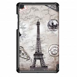 Smart Cover pentru Samsung Galaxy Tab A 8 inch 2019, SM-T290 SM-T295 - turnul eiffel