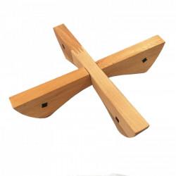 Suport din lemn masiv pentru oale si ceaune fierbinti, 20 cm, Fag