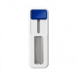 Suport tip Hand Strap pentru telefon, autoadeziv, cu buton Albastru