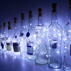 Ghirlanda lumini tip zana, micro fairy, 115 cm, 10 led-uri, lumina alb rece