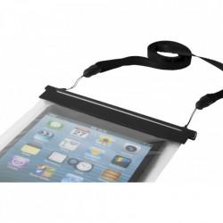 Husa impermeabila pentru tablete de 7 - 8 inch, IP68, ABS, PVC, Neagra