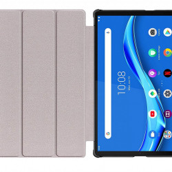 Husa Smart Cover pentru tableta Lenovo Tab M10 TB-X306F/TB-X306X 10.1 rosie