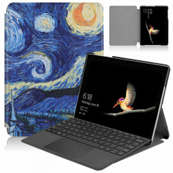 Husa Smart Cover Tableta Microsoft Surface Go 2 10.5 starry night