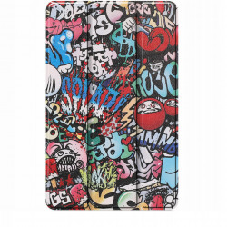 Husa Smart Cover Tableta Samsung Galaxy Tab S6 Lite 10.4 inch - graffiti