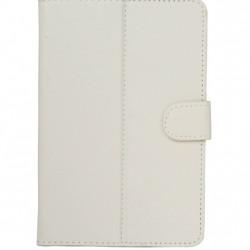 Husa universala pentru tableta de 10 inch, Book Cover Alba