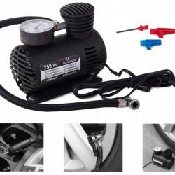 Mini compresor auto cu manomentru, 300PSI, 20.7 bar, 12 V