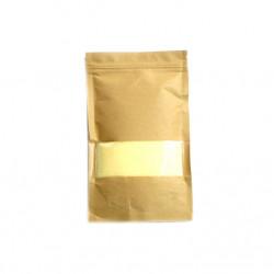 Set 100 grame Granule de ceara si doua fitile, pentru lumanari, galben