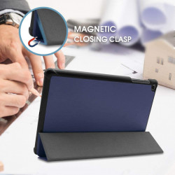 Smart Cover Samsung Galaxy Tab A T510 T515 - 10.1 inch - albastru inchis
