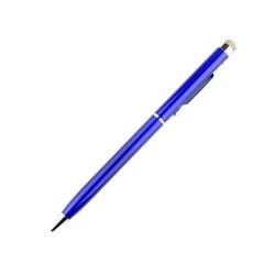 Stylus cu pix si varf din Microfibra - Albastru