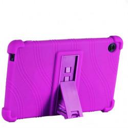 Husa compatibila cu tableta Huawei MatePad T8 TPU cu stand - Mov