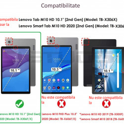 Husa pentru tableta Lenovo Tab M10 TB-X306F/TB-X306X 10.1 rosie
