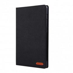 """Husa Tableta Samsung Galaxy Tab S7 11"""" 2020 T870 T875 material textil negru"""
