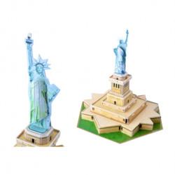 Puzzle 3D,  Statuia Libertatii, 30 Piese