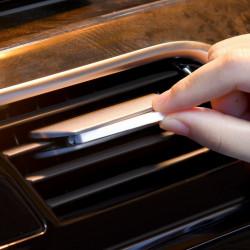 Set 6 bucati, rezerva odorizant auto aromaterapie Baseus Metal Paddle, Trandafir