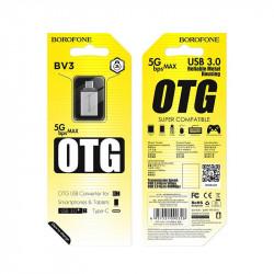 Adaptor otg USB tip C Borofone BV3