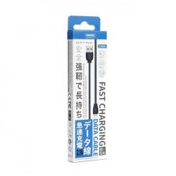 Cablu de incarcare USB to Lightning, Remax RC-134i, 100 cm, Negru
