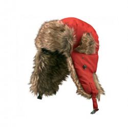 Caciula tip Aviator, King Cap colection, pentru barbati, diametru 20 cm. rosie