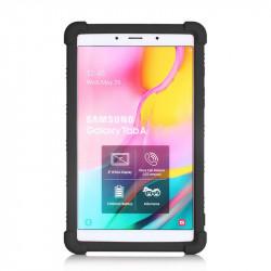 Husa Samsung Galaxy Tab A 8 inch 2019, SM-T290 SM-T295, TPU cu stand - Negru