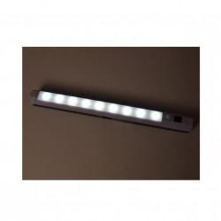 Lampa LED senzor de prezenta, 9 LED-uri, Alba