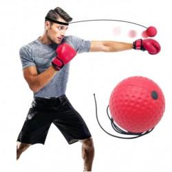 Minge de antrenament pentru imbunatatirea reflexelor, fixare pe cap, MMA