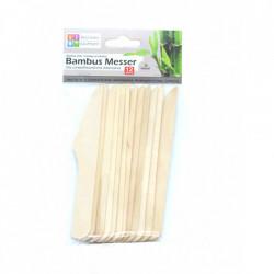 Set 12 bucati, cutite din lemn de bambus, 100% naturale